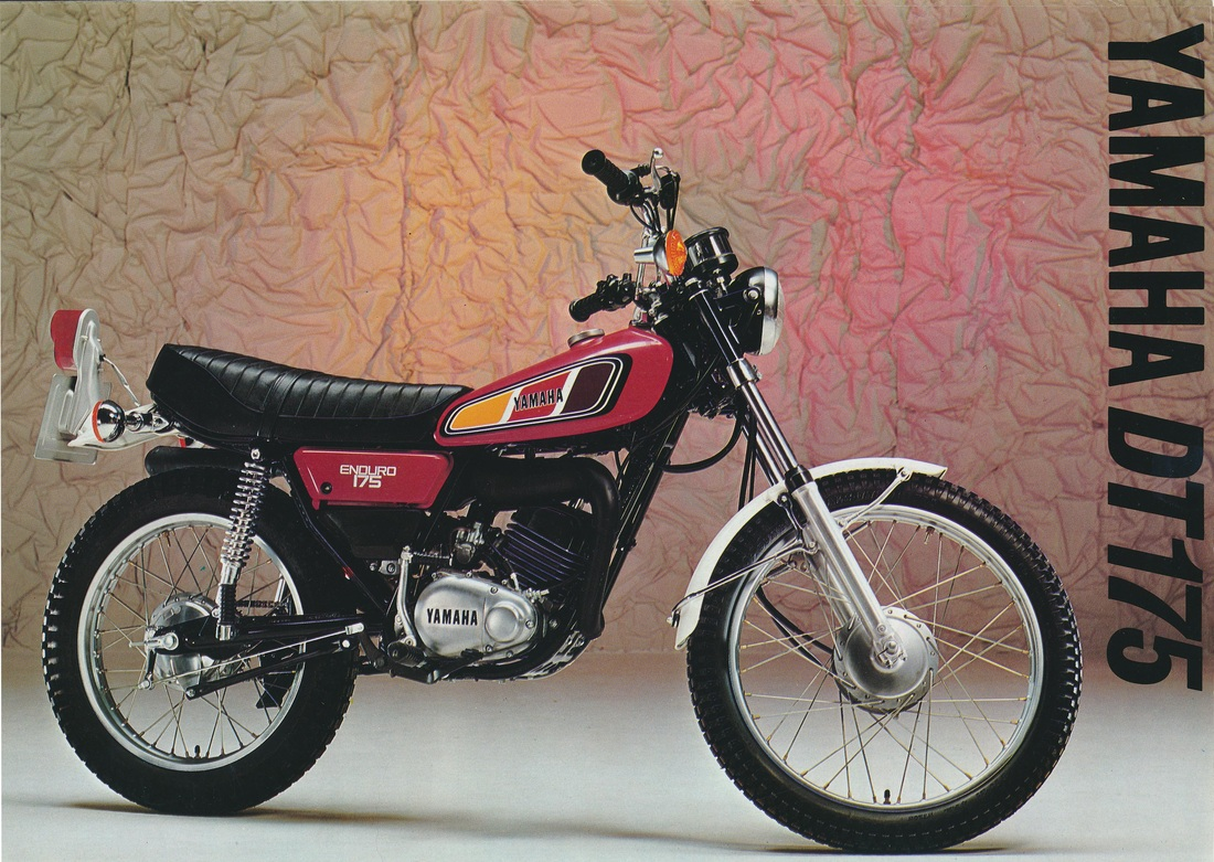 1977 DT175. UK Model Sales Brochure.